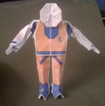 Origami Krillin by WilliamClinch