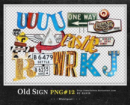 Old Sign PNG#12 by smallElnis