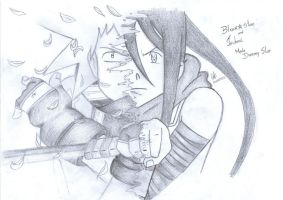 Black Star and Tsubaki by cak04
