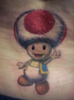 Nintendo tattoo by Lillithmorgain