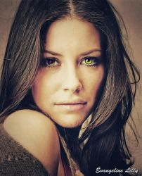 Evangeline Lilly (Golden) by thephoenixprod