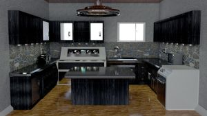 penthouse part 3: the Kitchen by cs098