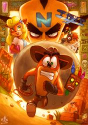 Kingdom of the Wumpa Fruit by Ry-Spirit