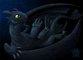 Toothless by Bueshang