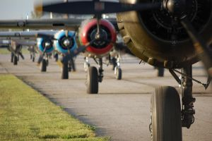 B-25 Engines and Landing Gear - Doolittle 70th by comradeloganov