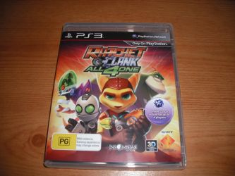 Ratchet and Clank: All 4 One by davyboy90
