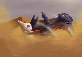 Zangoose VS Gabite