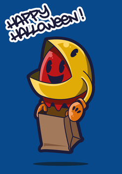 Pacman Halloween by capitanusop