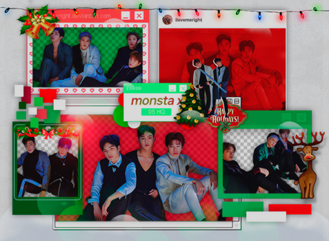 +MONSTAX|PACK PNG|179 by iLoveMeRight