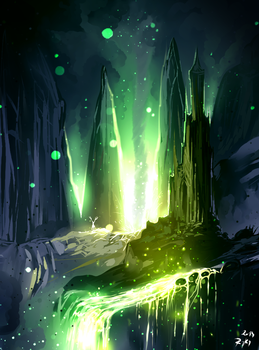 Green Lava by ryky