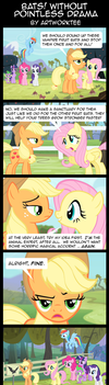 Comic: Bats Without Pointless Drama by artwork-tee