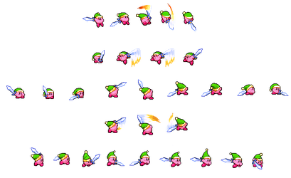 A bunch of custom Sword Kirby things by TheLieutenantSurge