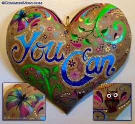 YOU CAN by DrawingMom