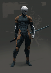 Gray FOX--Frank Jaeger by Hyb1rd-1982