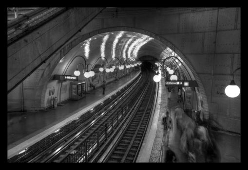 Metro parisien by Thelive33