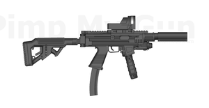 BA. Mptmg (multi purpose tactical machine gun) by andyshadow26