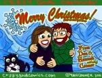 conner Christmas card 2010 by holyd490