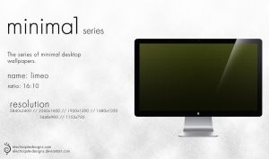 minima1 series - limeo by electroqute-designs