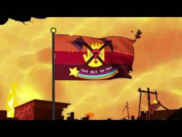 Flag, The end Gravity Falls by JulietteOnline
