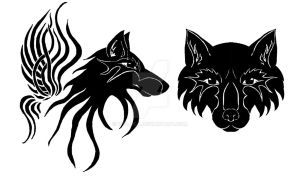 Wolves tattoo by Wol4ica