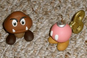 Clay Goomba and Bob-omb 4 AB10 by HeyLookASign