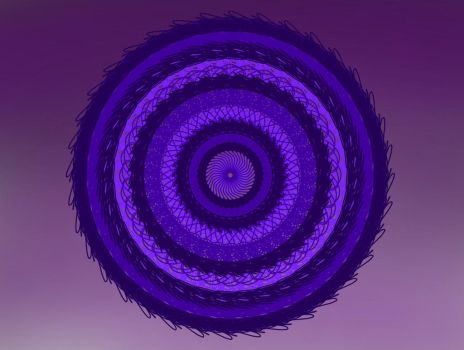 Purple vortex by Mirasai
