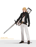 Jaune Arc - RWBY 3.0 by dishwasher1910