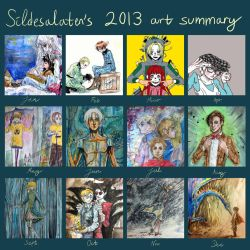 2013 Art Summary by Sildesalaten