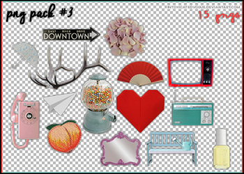 Png Pack #3 / 15 PNGS by intoxicatedvogue
