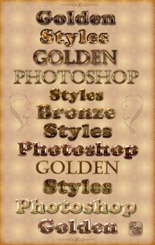 Golden and brilliant styles by Lyotta
