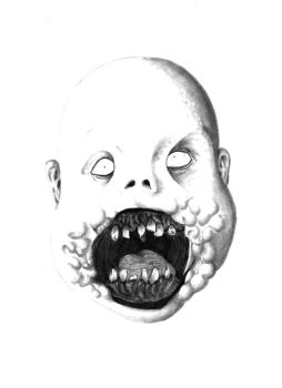 Baby Demon Zombie Thing by Imaginashawn