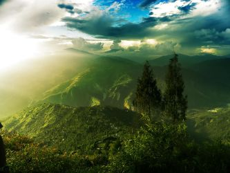 Dawn in the Hills by SubhadipKoley