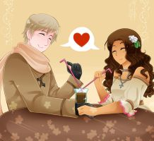 AT: Chocolate Milk Love by SaMelodii