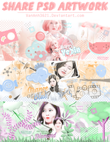 [SHARE] PSD ARTWORK PACK 01 by VanAnh3621