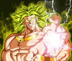 The Legendary Broly by Sam-Baten