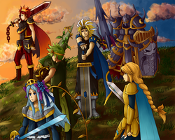Brave Frontier Starters by Ewyt