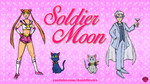 Soldier Moon by AnutDraws
