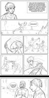 Dune Comic: Cave Fight 2 by Llewxam888