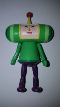 Custom Katamari Damacy Prince figure by DrClockwise