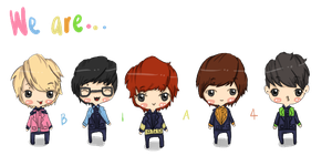 We are B1A4: Fanart by Loveaziimah