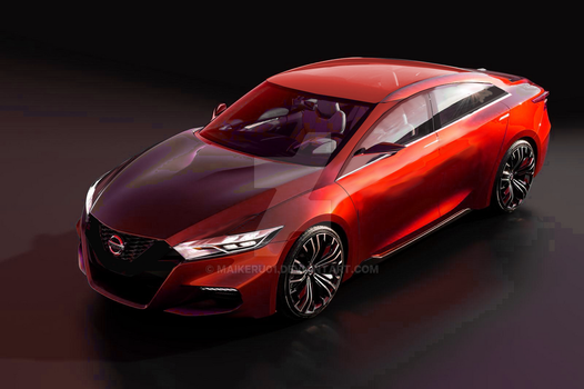 2015 Maxima Redesign by maikeru01
