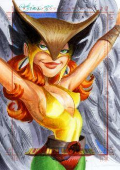 Hawkgirl by andypriceart