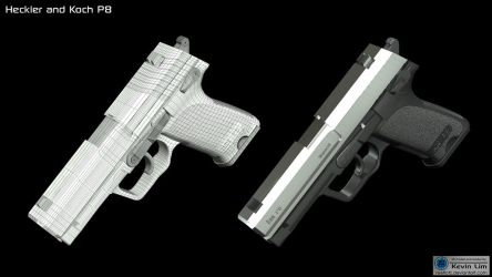 Heckler and Koch P8 by reeflotz