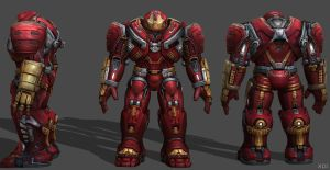Hulkbuster AIW FF by SSingh511