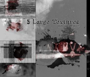 5 Large Textures by Cookiemonstereatsyou