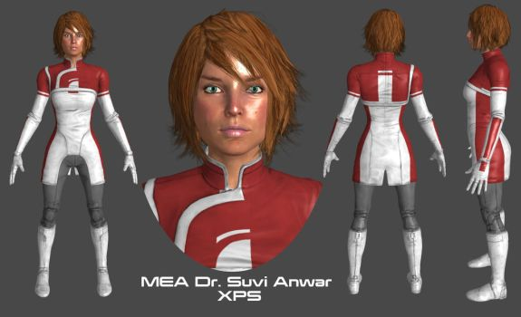 MEA Dr. Suvi Anwar XPS by Padme4000