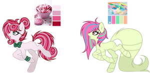 l + Candy Themed Adopts + l (1/2 OPEN) by Mintoria