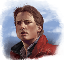 Marty McFly by NoSafeHaven