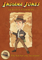 Harrison Ford aka Indiana Jones poster by winnetouch
