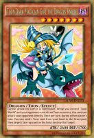 Toon Dark Magician Girl the Dragon Knight by AlanMac95